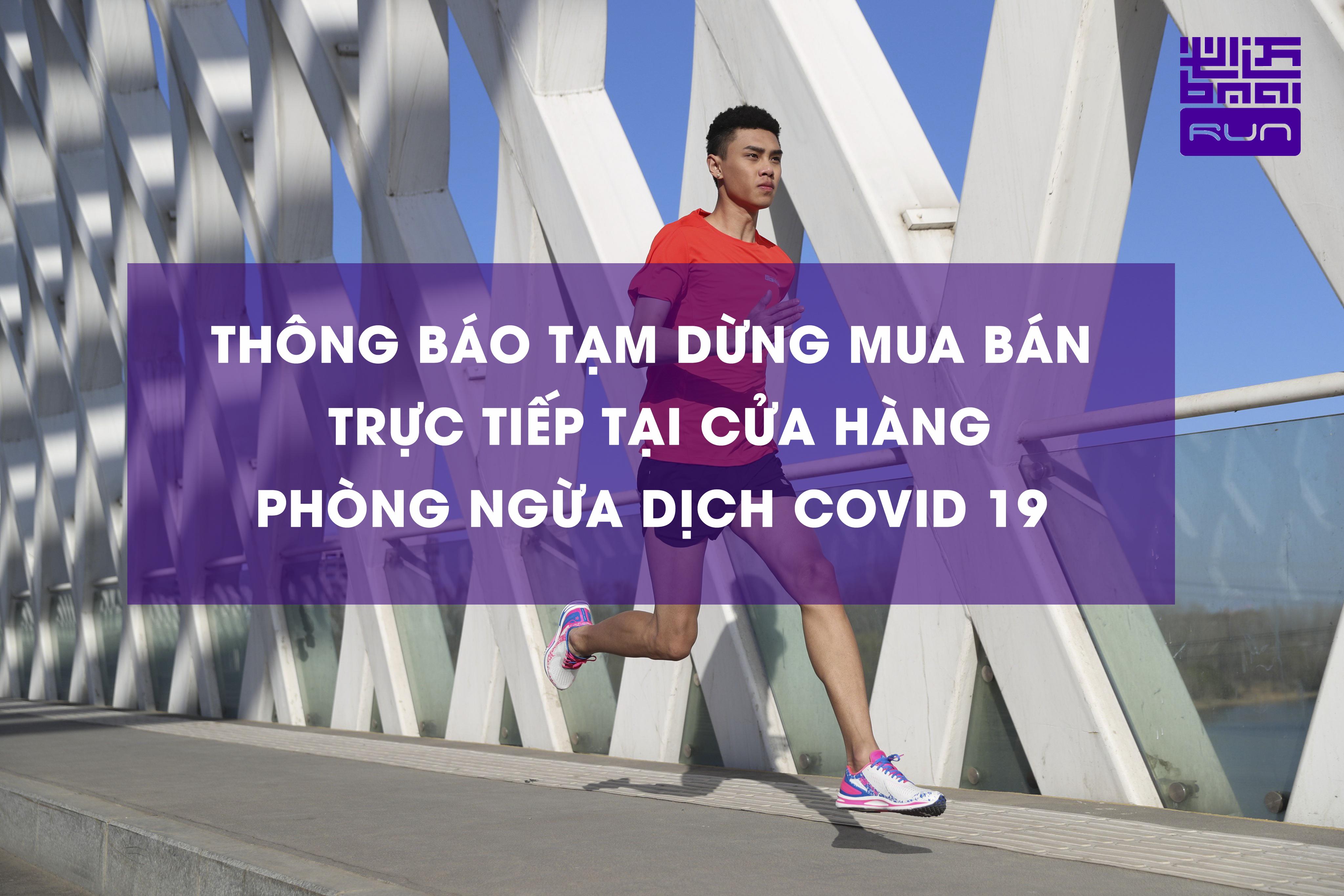 Bmai Sport Việt Nam - Thông báo tạm dừng mua bán trực tiếp tại cửa hàng